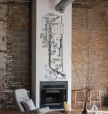 art design home wall interior decor science decoration math