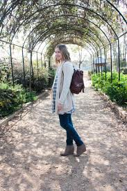Cold Weather Maternity Clothes Styling A Dress Over Jeans For Fall