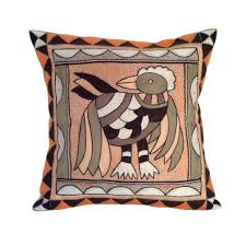 kaross handmade african art embroidered home décor items online