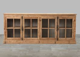 casement window bleached pine sideboard