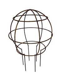 slimjim range traditional handmade slimline topiary sphere