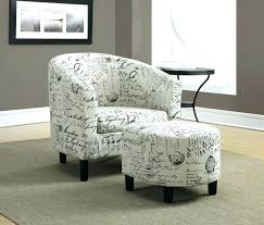 Chair And Ottoman Sale Overstuffed Chairs And Ottoman Fabric Chair With Trim Large