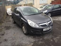 vauxhall corsa 1 2 petrol manual 3 door hatchback grey 2012