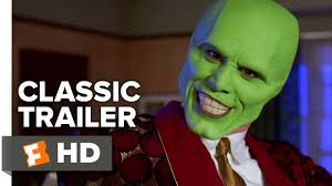 Mask Jim Carrey Costume Halloween Mask 1994 Official Trailer Jim Carrey Movie