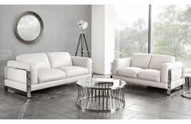 Leather Modern Sofa by Beca Modern Orange Leather Sofa