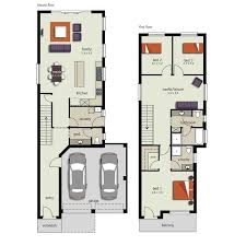 Narrow Block Floor Plans Pin By Melissa Prunty On Narrow Block House Plans Pinterest