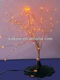 decorative indoor window led light tree corner decoration led mini