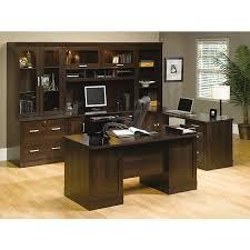 Sauder Executive Office Desks Sauder Office Port Outlet Executive Desk 29 1 2 H X 65 1 2 W X 29