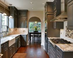 Painting Inside Kitchen Cabinets by Painting Inside Kitchen Cabinets Houzz