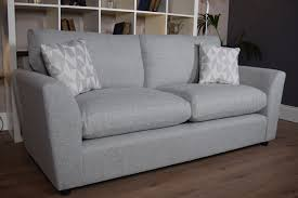 Grey Silver Sofa Carter 3 Seater Sofa Light Grey Silver Out Of Stock