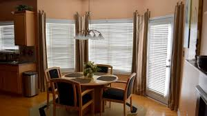 Window With Blinds Dressing A Bay Window With Blinds And Curtains Ideas Youtube