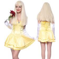 halloween costumes beauty and the beast princess belle fancy dress fairy tale beauty beast party