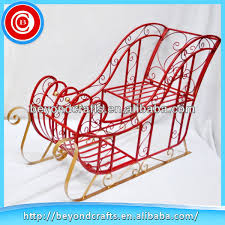 Outdoor Christmas Decorations Sleigh by Outdoor Metal Christmas Sleigh Outdoor Metal Christmas Sleigh