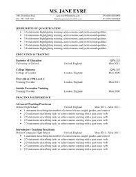 resume of work and volunteer resume template example