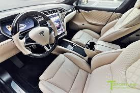 T 72 Interior Custom Ferrari Creme Model S 2 0 Interior Gloss Carbon Fiber
