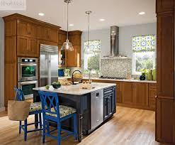cherry cabinets in kitchen kraftmaid cherry cabinetry in golden lager traditional