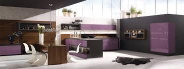 cuisine bois design cuisine design violette