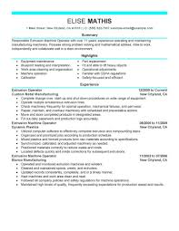 Resume For Manufacturing Sample Resume For Warehouse Forklift Operator Resume For Your