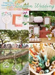 Diy Garden Wedding Ideas The Of A Classic Garden Wedding Diy Ideas To Inspire You
