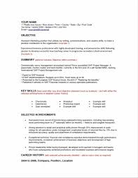 Sample Resume Objectives For Leadership by Job Objectives Resume Hr Resumes It Objective Sample Format Lines