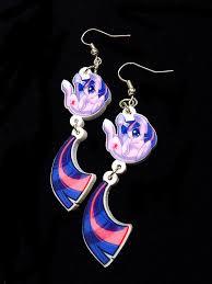 my pony earrings mlp my pony earrings twilight sparkle by mmisheesstore
