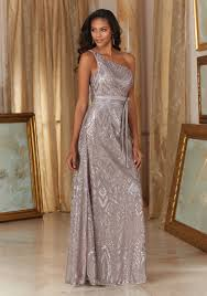sequin bridesmaid dresses patterned sequins on mesh bridesmaid dress style 20486 morilee