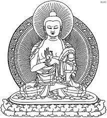 Buddha Coloring Page Vitlt Com Buddhist Coloring Pages