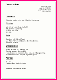 Unix Resume Job by 9 Sample Job Resume For College Student