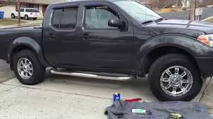 nissan frontier suspension lift 2012 nissan frontier readylift 265 70 18 xd riot chrome