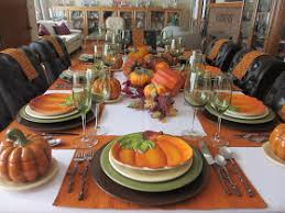 the inspiration for this week s table came from the pumpkin plates