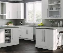 gray kitchen white cabinets kitchen cabinets color gallery