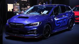 lowered subaru impreza wagon subaru prepares sti packages for 2017 tokyo auto salon