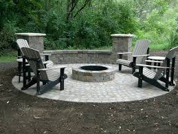 patio ideas diy portable outdoor fire pit king kooker portable