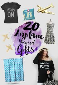 20 airplane themed gifts