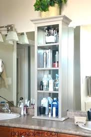 Bathroom Countertop Storage Ideas Bathroom Counter Storage Tower Bathroom Storage Cabinets