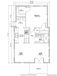 One Room Cottage Floor Plans Best 25 16x32 Floor Plans Ideas On Pinterest Shed House Plans
