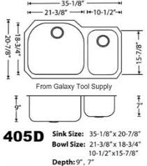 what size base unit for a sink sink size for 36 base cabinet