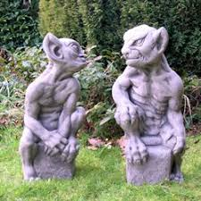 gargoyle garden statues home design inspiration ideas and pictures