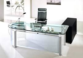 Home Office Glass Desks Contemporary Glass Desks For Home Office Contemporary Glass