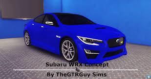 subaru impreza wrx initial d thegtrguy sims auto studio sims 4 studio