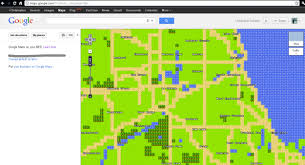 Maps Google Com Chicago by Google Maps In 8 Bit Ask Me Anything