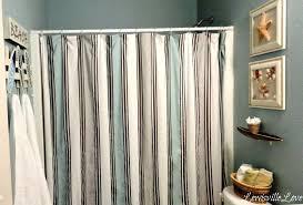 simply brown blue fabric shower curtains diy custom blue fabric