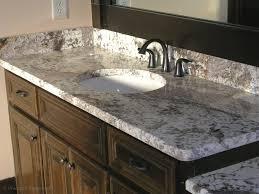 Bathroom Vanity Granite Countertop Bathroom White Bathroom Vanity With Granite Countertop And Large
