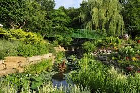 the monet garden overland park arboretum and botanical gardens