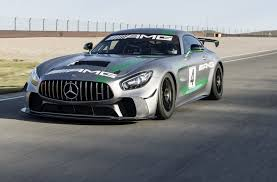 maserati 2030 mercedes amg reveals gt4 race car