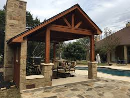pool side cabanas austin decks pergolas covered patios