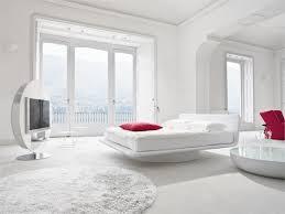 chambre toute déco chambre a coucher toute blanche le tapis blanc stylé