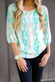 seabreeze pearls by premier designs paired with mint skinny jeans