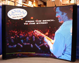 Graphic Panels Used 10ft Pop Up Display With Graphic Panels Nomadic Display