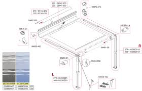 Fiamma Awning Parts Caravansplus Spare Parts Diagram Fiamma F35 Pro 270 300 Awning